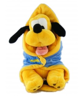 Peluche doudou Pluto couverture Disney Disneyland Resort Paris 26 cm