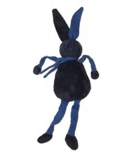 Doudou LAPIN Bleu marine étoiles BOUT'CHOU MONOPRIX