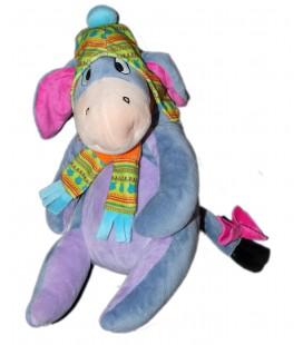 Doudou peluche BOURRIQUET Bonnet Echarpe PTS SRL Disney 32 cm