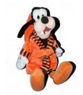 Doudou peluche Dingo Peignoir orange Robe de chambre 40 cm Disney PTS SRL