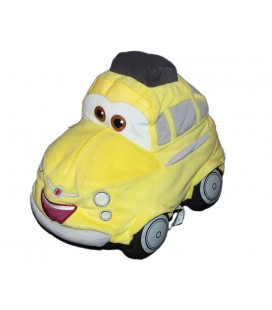 Peluche Doudou Voiture jaune Luigi CARS Disney Mattel 32 cm
