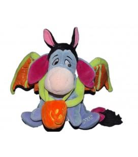 COLLECTOR 2002 - Doudou peluche BOURRIQUET Halloween Citrouille Chauve souris Disney Store H 20 cm