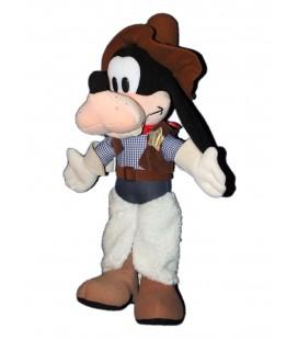 RARE ET COLLECTOR ! Doudou peluche Dingo Cowboy Goofy 50 cm Disneyland Paris Disney