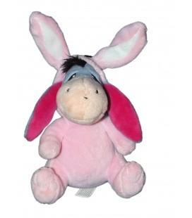 Doudou Petite peluche Bourriquet Disney Nicotoy 15 cm déguisé en lapin rose 587/9180