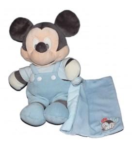 Doudou peluche MICKEY Mouchoir bleu 28 cm Disney Nicotoy 587/1656 9647