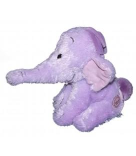 Doudou peluche LUMPY Efelant Elephant mauve 22 cm Original Disney Store