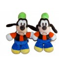 LOT - 2 x Peluche Doudou DINGO Goofy - Mickey Club House - Disney Nicotoy 24 cm
