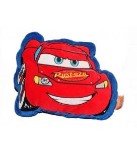 Coussin Peluche Doudou Voiture Cars Disney Flash McQueen 26x32 cm