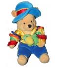 Peluche Doudou Winnie l'Ourson Rio Pooh Perroquet Coll. Voyage Pays 20 cm Disney Store
