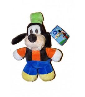 Peluche Doudou DINGO Goofy - Mickey Club House - Disney Nicotoy Quiron 24 CM