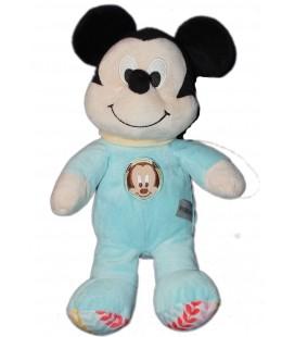 Doudou peluche MICKEY Pyjama bleu 30 cm Disney Nicotoy 587/2587