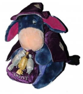 peluche BOURRIQUET Halloween Citrouille Trick or Treat Disney Store H 32 cm
