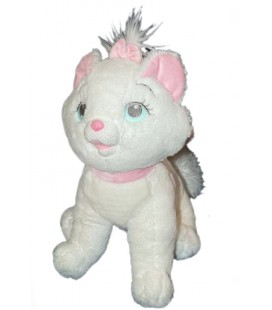 Peluche Doudou Chat Marie LES ARISTOCHATS Disney Parks Authentic Original 35 cm