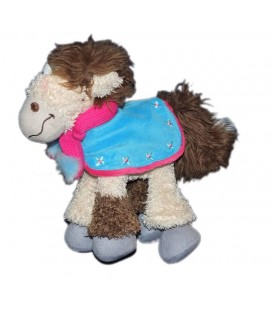 Peluche doudou CHEVAL Galupy DIDDL H 26 cm