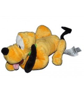 Doudou peluche Pluto allonge Authentique Disney Store 18 cm