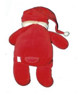 Peluche Ours pyjama rouge dormeur DAMART Perfectel Collection