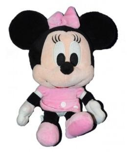 Doudou peluche Minnie - Grosse Tête - Assis 24 cm - Disney Simba 587/7596