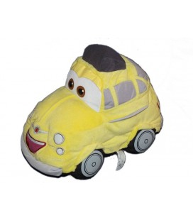 CARS Peluche Voiture jaune Luigi Disney Mattel 32 cm