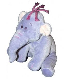 NICOTOY Doudou peluche elephant mauve LUMPY 22 cm Disney 587/3440