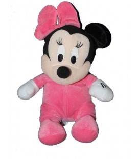 doudou-peluche-minnie-bebe-pyjama-rose-disney-pts-srl-noeud-28-cm