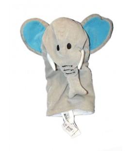 Doudou Marionnette Elephant gris Klappar Vild IKEA