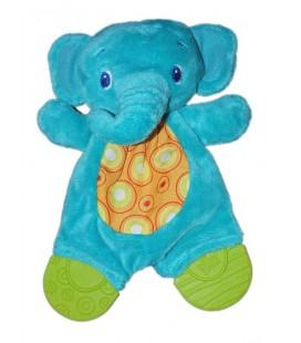 Doudou plat Elephant bleu Bright Stars