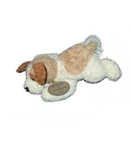 Doudou peluche chien marron beige Doudou et Compagnie 22 cm