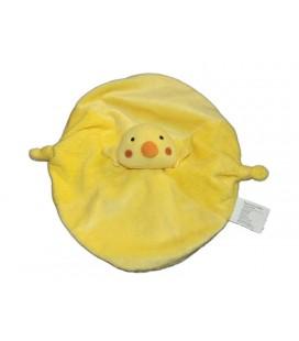 Doudou plat poussin canard jaune Tout compte Fait TCF