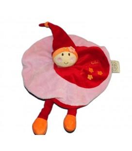Doudou rond Lutin rose rouge Un rêve de Bébé CMP