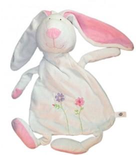 Doudou Range Pyjama Lapin blanc CP INTERNATIONAL 55 cm