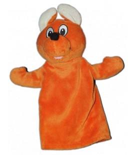 Marionnette Walibi doudou Kangourou orange Belpark 30 cm