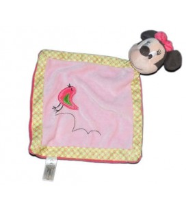 Doudou plat MINNIE oiseau Disney Nicotoy 587/3336