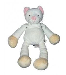 Doudou Chat blanc Gund 24 cm