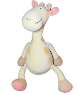OBAIBI OKAIDI Doudou girafe jaune 38 cm