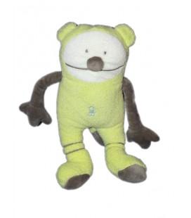 OBAIBI OKAIDI Doudou Ours souris monstre Vert 22 cm