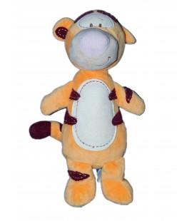 Doudou Peluche TIGROU Orange Bordeau Disney Nicotoy 587/0968 H 28 cm