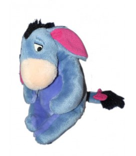 Doudou peluche BOURRIQUET - Disney Nicotoy 26 cm - Queue à scratch