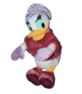 Peluche doudou DAISY Chapeau gants mauves 26 cm Disneyland Paris