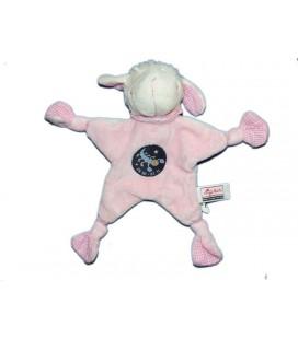 Doudou Plat Mouton rose Sigikid Scorpion signe du zodiaque
