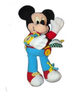 Peluche d'activité MICKEY rouge bleu Mattel Montre 36 cm