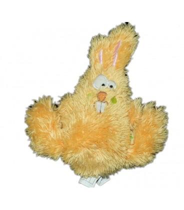 Doudou Lapin jaune Liboo 18 cm Yellow Rabbit Baby Comforter