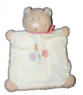 doudou-marionnette-chat-blanc-beige-fleurs-bengy-echarpe-rose