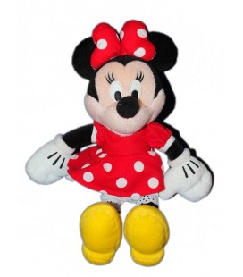 peluche-disney-minnie-robe-rouge-pois-35-cm-disney