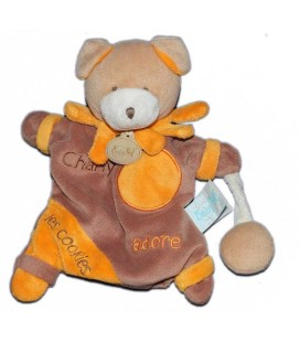 Doudou marionnette Ours Chien Charly Adore les cookies Baby Nat