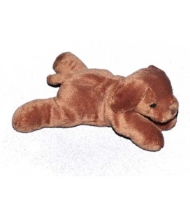 doudou-chien-marron-max-and-sax-20-cm-carrefour