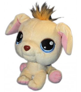 doudou-peluche-chien-beige-jaune-littlest-pet-shop-hasbro-2006-24-cm