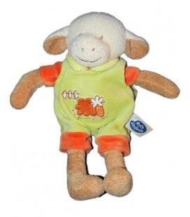 doudou-peluche-mouton-agneau-salopette-verte-mots-d-enfants-26-cm-sheep-plush-baby-comforter