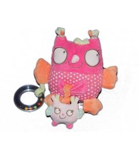 peluche-d-activite-doudou-hibou-rose-orange-pois-tex-baby-20-cm