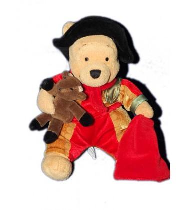 collector-peluche-doudou-winnie-l-ourson-torrero-spanish-pooh-24-cm-disney-store