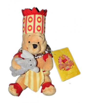 COLLECTOR Peluche Doudou Winnie l'Ourson African Pooh Elephant 25 cm Disney Store